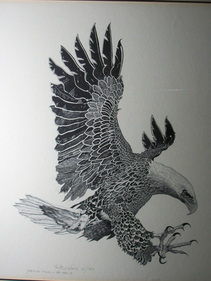 American Eagle by    Ric Kirk Limited Edition Print 61/700 This is one fantastic depiction of an Eagle www.vintageprintsandart.com